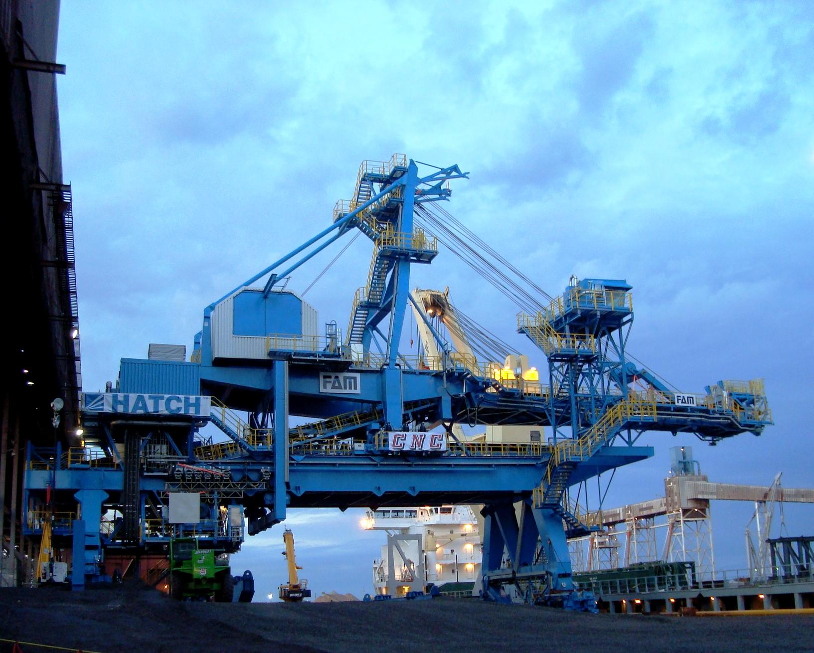 Arcelor Mittal -Chargeur de navire - Ship loader