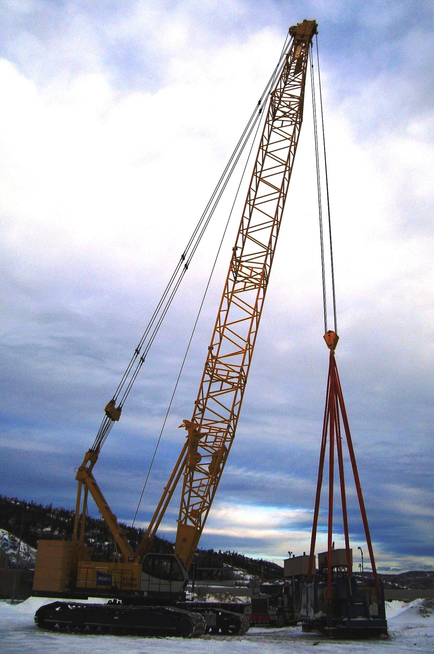 Lattice Boom Crawler Crane